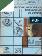 Técnicas Prehispánicas en los Objetos de Concha