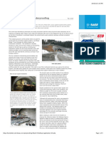 Hindhead Spray on Waterproofing TunnelTalk