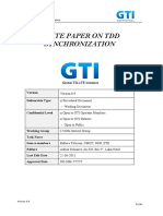Info-doc_GTI-WP-synch_v0.9_GTI White Paper on TDD Synchronization (Info-doc)