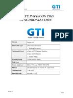 Info-doc_GTI-WP-synch_v0.9_GTI White Paper on TDD Synchronization (Info-doc)