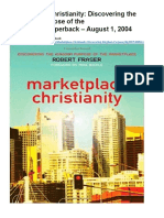 Marketplace Christianity - Rob Fraser - Cliffnotes