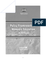 Policy Framework Revised2 Nomadiceducation Okwach20march2015