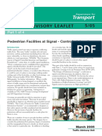 Pedestrian Facilities at Signal-controlled Junctions