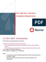 Cathriona O'Neil ISO 11607 1&2 Compliance Requirements