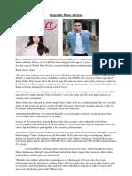 Biography Raisa Adriana