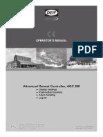 AGC 200 Operators manual 4189340607 UK_2013.08.29