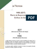 3 Unidad WBS Matriz Gantt