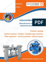 PDF Catalogue Basket Duplex Simplex Type Strainers