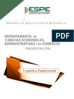 Presentacion Logística empresarial