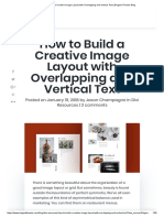 How to Build a Creative Image Layout With Overlapping and Vertical Text _ Elegant Themes Blog