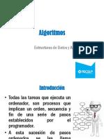 13 Presentación  - Algoritmos