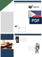 Sample Law Brochure
