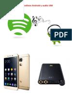 Dispositivos Android y Audio USB