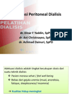 Adekuasi Peritoneal Dialisis