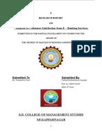 E-Banking MBA Marketing VTU Project_167969731