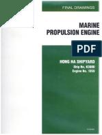 Final Drawings Marine Propulsion Engine