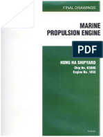 Final Drawings Marine Propulsion Engine