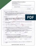 Examen Parcial de Computacion Grafica 2009-I - Avendaño