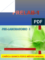 PRELAB 1 - Cinetica Metodo Integral
