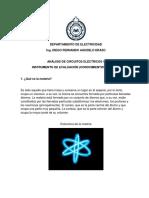 Dominios Previos, Cuestionario, circuitos