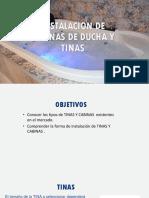 INSTALACION DE TINAS
