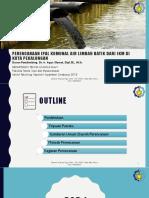 Perencanaan Ipal Komunal Air Limbah Batik Dari Ikm