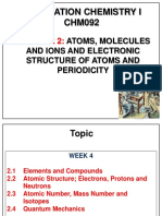 CHM092 Chapter 2 Atoms-Ions-Periodic