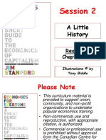 History of Economic Thoughts