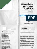 Elaboracion de La Historia Clinica