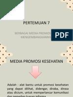 PERTEMUAN 7 PROMKES