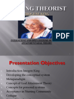 Theory Interacting n Open System Model