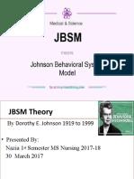 Theory JBSM Presentation