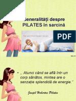 Ginecologie - Pilates Gravide