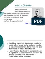 Principio de El Chatelier