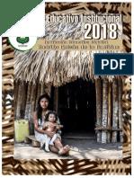 Proyecto Educativo Institucional I.E.D. Rodrigo Galván de La Bastidas