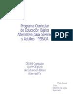 Programa Curricula EBA