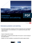 Generators Protection and Switching