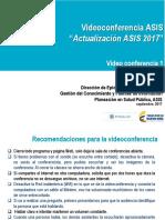 Actualización ASIS 2017