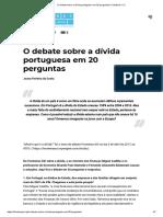 O Debate Sobre a Dívida Portuguesa Em 20 Perguntas _ Fronteiras XXI