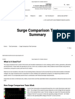 Surge Comparison Test - Electrom Instruments
