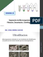 Separacion de Mo Por Centrifugacion Filtracion