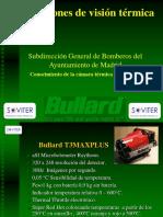 Uso de La Camara Termica T3MAXPLUS Bomberos
