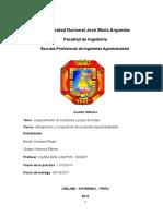 Informe N° 04 Congelamiento de Hortalizas