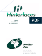 HINTERLACES - PARLAMENTARIAS 2010 - REPORTE EJECUTIVO - MONITOR PAÍS (Septiembre 2010)