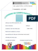 Cuaderno de Campo Facilitadoras