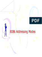 8086 Addressing Modes