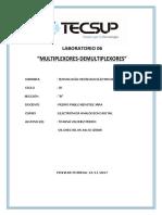Laboratorio-6-MULTIPLEXORES-DEMULTIPLEXORES