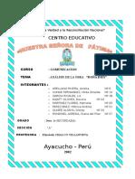 Analisis de La Obra Doña Ines-2002
