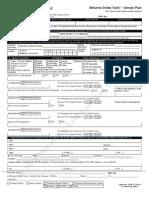 Reliance Index Fund-Sensex - NFO Form
