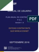 Manual Pac Con Esigef en Ushay y Soce